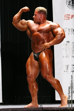 Jay Cutler posing 2008 (North Carolina State Bodybuilding, Fitness & Figure Championships)