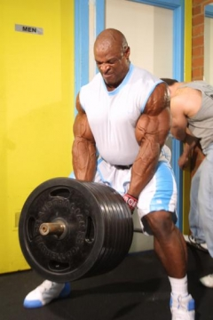 Ronnie Coleman : tirage rowing