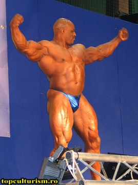 Ronnie Coleman : posing