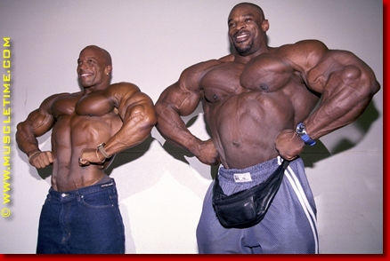 Shawn Ray et Ronnie Coleman